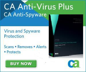 CA Anti-Virus Plus Anti-Spyware 2009