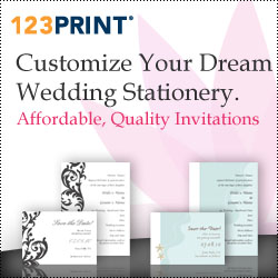 123Print — Customize Your Dream Wedding Stationery