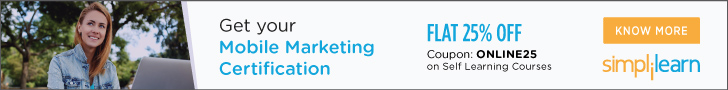 Advanced Mobile Marketing Certification