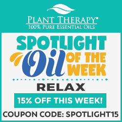 EXCLUSIVE! Get 15% Off Relax Oils at Plant Therapy! Use Code SPOTLIGHT15 and Save!