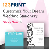 123Print &emdash; Customize Your Dream Wedding Stationery