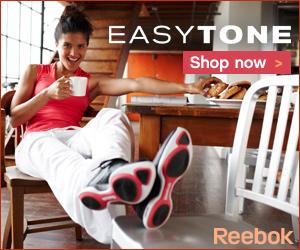 Help tone key leg muscles with Reebok Easytone