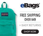 eBags Promo Code Free Shipping