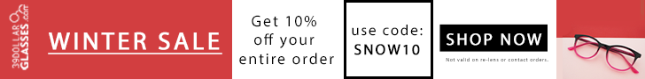 Get $15 off every pair of glasses! Use code STUDY15. Expires 8/31/2015.