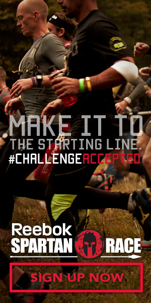 Make It To The Starting Line. #ChallengeAccepted Sign Up Now for a Reebok Spartan Race!
