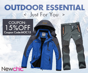 Extra 15% off for Outdoor Essential