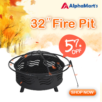 """Image for 32"""" Portable Fire Pit"""