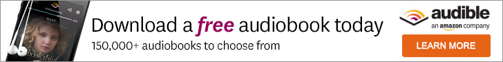 Try an audiobook at audible.com!