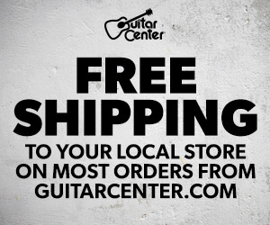 Free Shipping to Store at GuitarCenter.com!