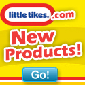 LittleTikes.com New Products Square Button