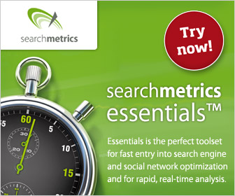 Searchmetrics Essentials - SEO analysis tool