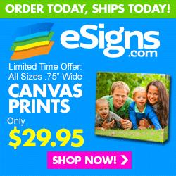 esigns Canvas Prints