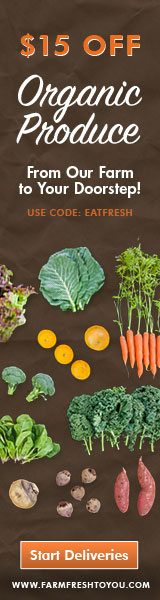 Farm Fresh to You - Save $15 off Organic Produce delivery with code EATFRESH