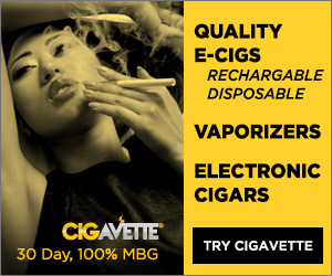 CIGAVETTE Electronic Vapor Devices