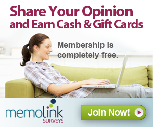 Join Memolink Surveys Free!