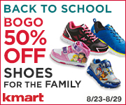Buy One Pair, -Get One 50% off Shoes for the Family