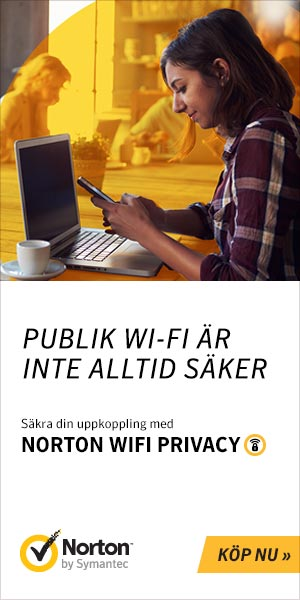Säkra din uppkoppling med Norton Wifi Privacy.