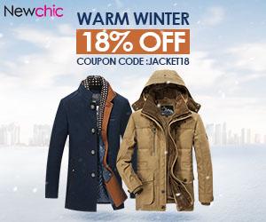 18% Off Men's Winter Jacket