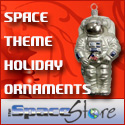 Space Store Holiday Ornaments
