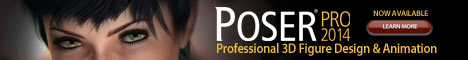 Poser Pro for Poser 6/7 Owners! Save $300
