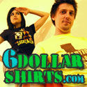 six dollar shirts men ladies printed