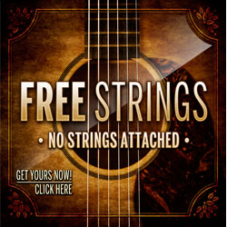 FREE Guitar String Offer