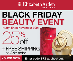 Black Friday Beauty Event! Get 25% Off + Free Ship