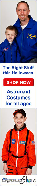 Astronaut costumes for all ages, The Space Store
