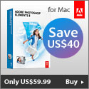 Adobe Photoshop Elements 8 for Mac only $59.99
