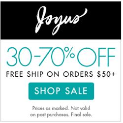 30-70% OFF at Joyus.com