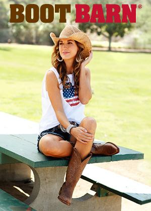 woman in cowboy hat