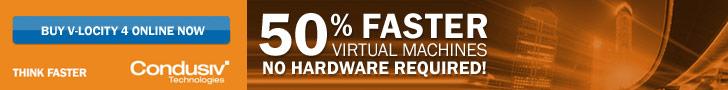 V-locity 4 VM Accelerator - 50% Faster VMs