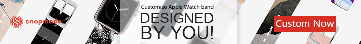 Snapmade 2015 - Custom Apple Watch Bands - 728*90
