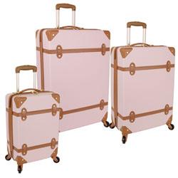 -Diane von Furstenberg  Saluti Hardside 3 Piece Spinner Luggage Se