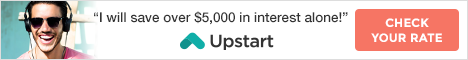 A smarter loan. You earned it. Check your rate on Upstart.com