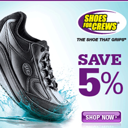 Save 5% at ShoesforCrews.com!