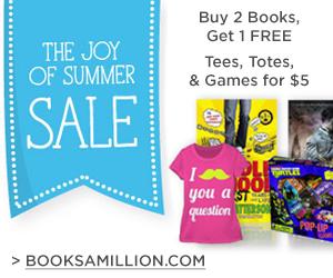 Books-A-Million Summer Sale