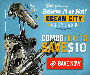Ripley's Believe It or Not! Ocean City MD Coupon | Ocean City Upper Midtown Stores, Malls, Outlets and More! | Ocean City MD