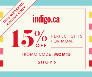 Take 15% Off Regular Priced Decor, Style & More at Indigo.ca! This Weekend, Online Only! Enter Promo