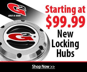 G/2 Locking Hubs on 4WheelParts start as low as $99.99