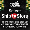 Extra 10% Savings at GuitarCenter.com