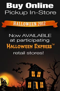 Buy Online Pickup In-Store with Halloween Express