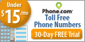 120x60 Toll Free Numbers