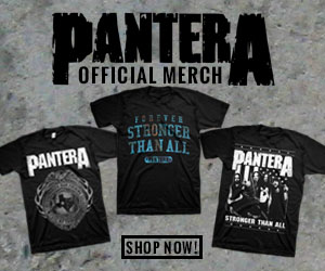 Shop now for official Pantera merchandise!
