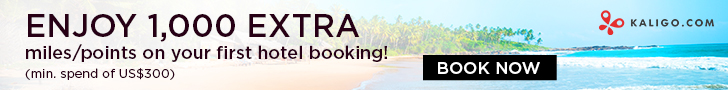Enjoy 1,000 EXTRA Miles or Points on your first hotel booking!