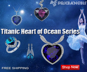 Hot Sell/Titanic Heart of Ocean Series Jewelry