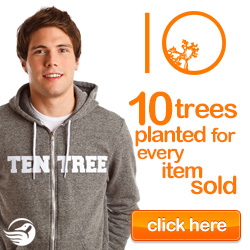 Celebrate Nature - Ten trees are planted for each item purchased! Shop TenTree now!