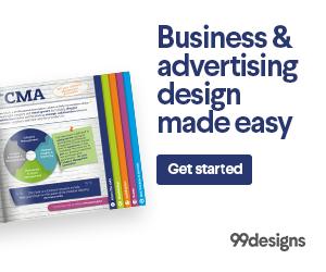 99designs graphic design review
