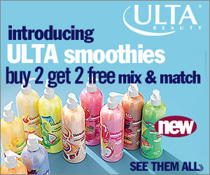 Mix & Match! Buy 2 Ulta smoothies and Get 2 FREE!