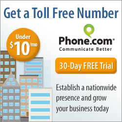 250x250 Toll Free Numbers